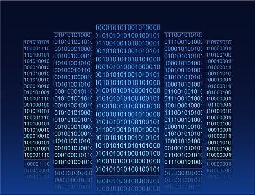 Technische Maßnahme Serverumgebung verdeutlicht durch Blöcke aus Zahlen